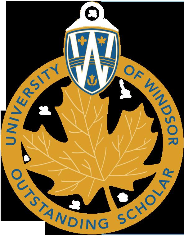 UWindsor Outstanding Scholar Logo