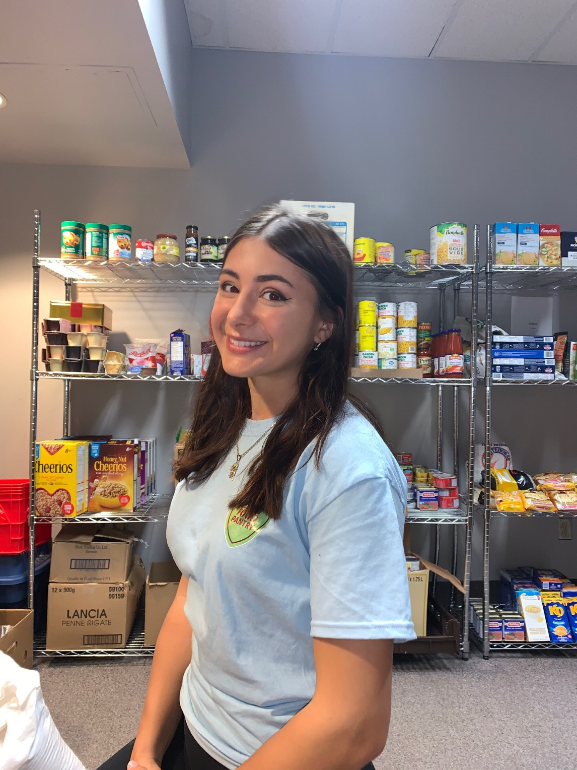 Alanna Olteanu - Food Pantry Coordinator