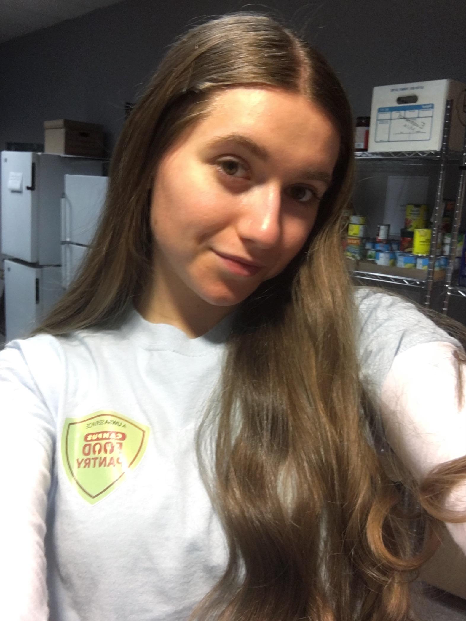 Emily Newman - Food Pantry Volunteer