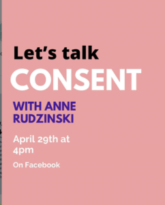 Let's Talk Consent Event Poster